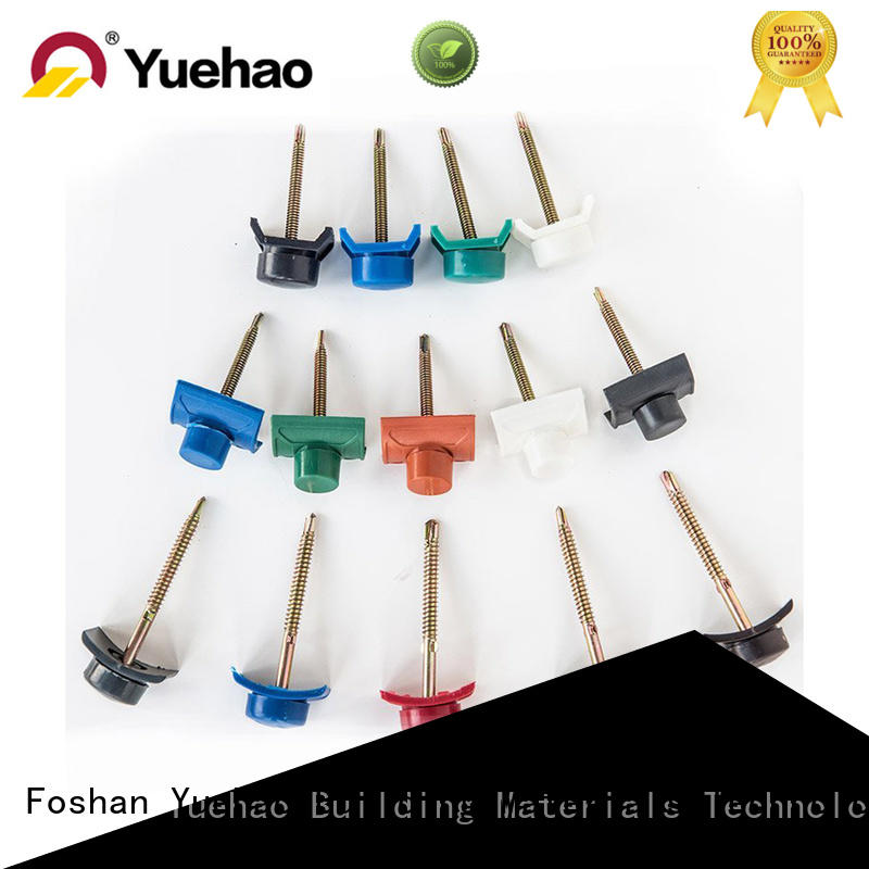 Yuehao plastic roof tiles wholesaler proofing roofing tools and accessories factory price for water draining