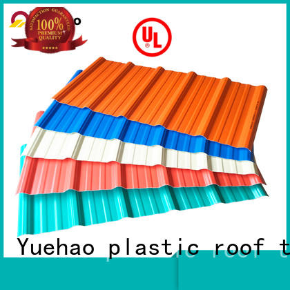 mounted lightweight plastic roof tiles supplier for water draining