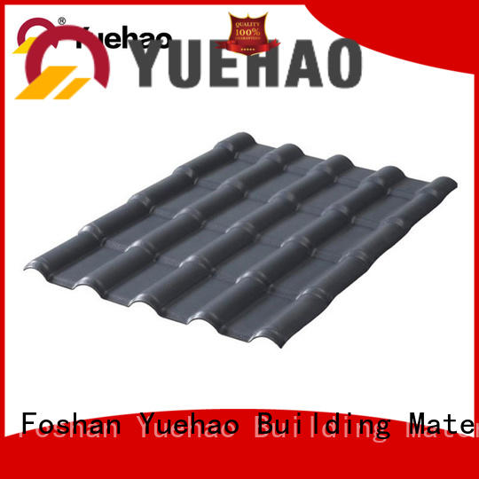 new arrival plastic roof tiles manufacturer 30 with good price for eaves flashing board