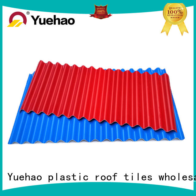 durable PVC heat resistant roof corrugated supplier for airport