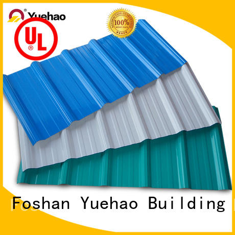 Yuehao plastic roof tiles wholesaler layer plastic roof tiles reviews grab now for airport