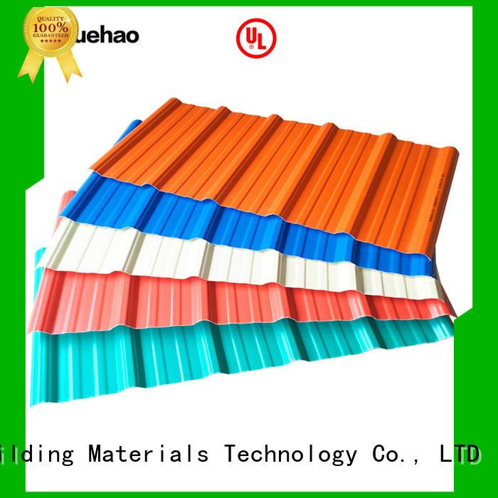 Yuehao plastic roof tiles wholesaler mounted lightweight plastic roof tiles wholesale for wall sealing