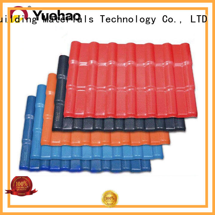 new arrival synthetic roof tiles size with good price for ending decoration