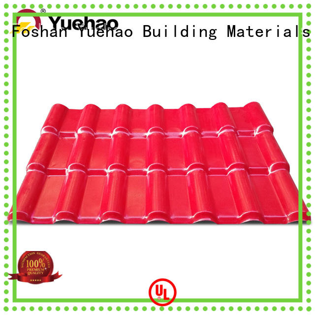 high quality plastic roof tiles manufacturer upvc factory for dormer clapping