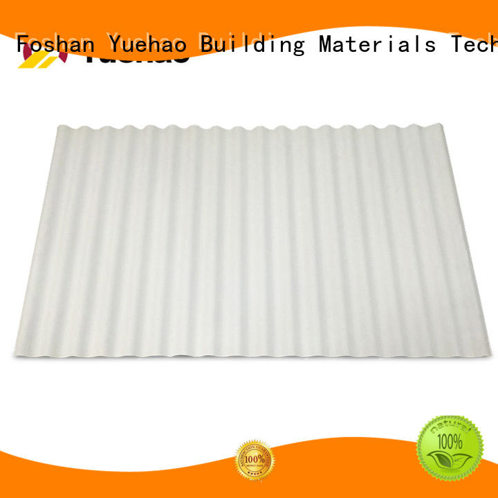disabled PVC heat reflective roof tile shop now for station