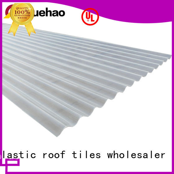 economical clear roofing products roof for eaves flashing board Yuehao plastic roof tiles wholesaler