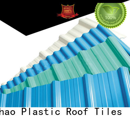 Yuehao plastic roof tiles wholesaler Brand hot sale ISO certificate custom plastic roof tiles manufacturer
