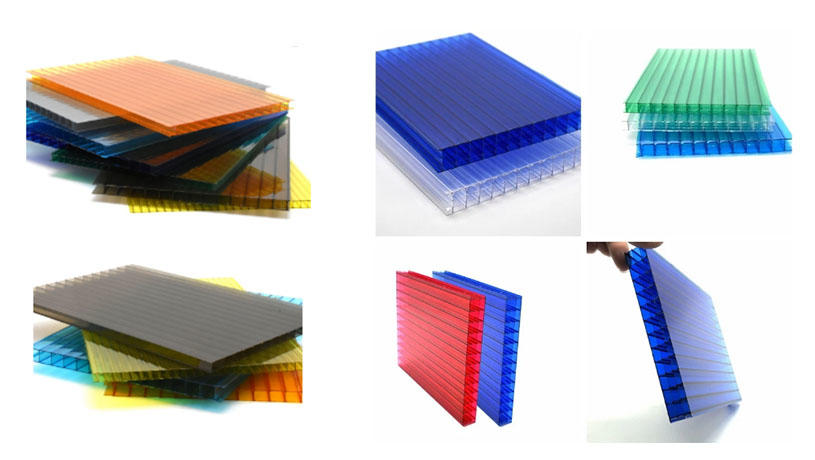 Yuehao plastic roof tiles wholesaler hollow clear corrugated plastic sheets greenhouse wholesale for dormer clapping