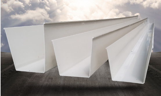 Yuehao plastic roof tiles wholesaler rain pvc pipe for gutters manufacturer for dormer clapping-1