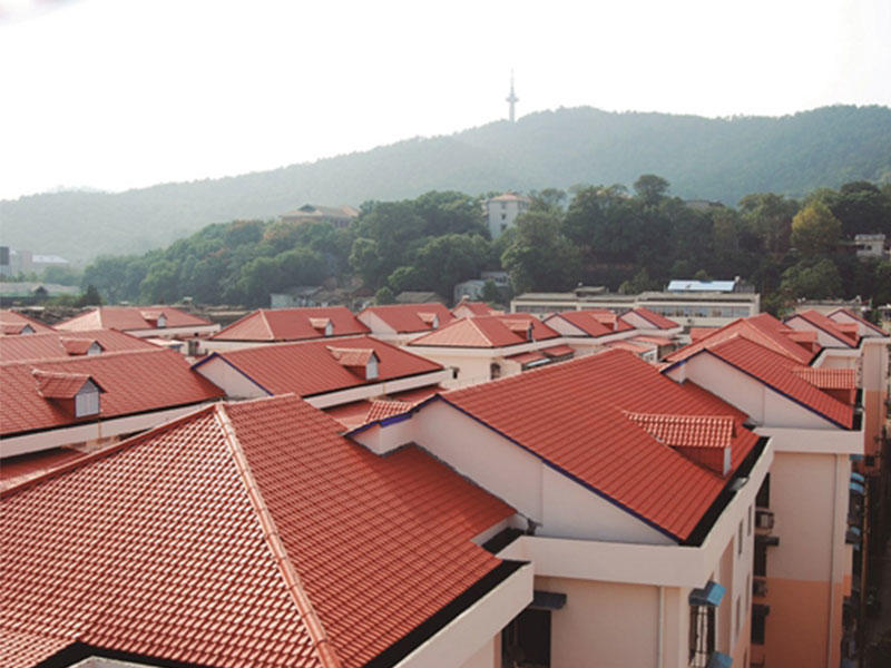 competitive price synthetic roof tiles spanish design for connection