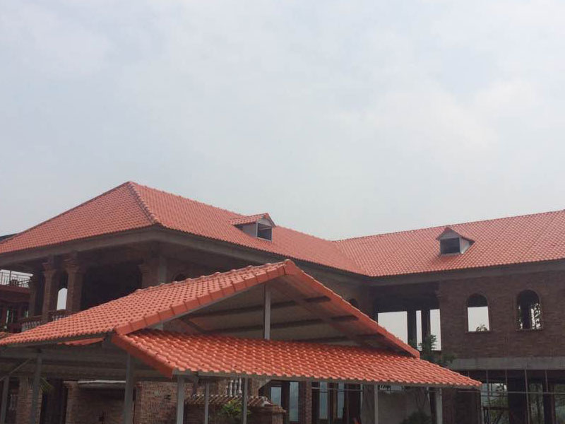competitive price synthetic roof tiles spanish design for connection-9