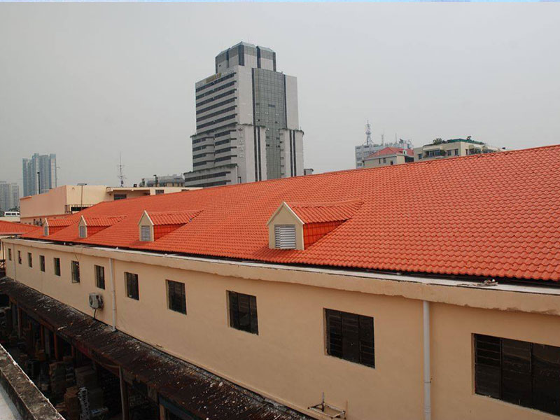 competitive price synthetic roof tiles spanish design for connection-12