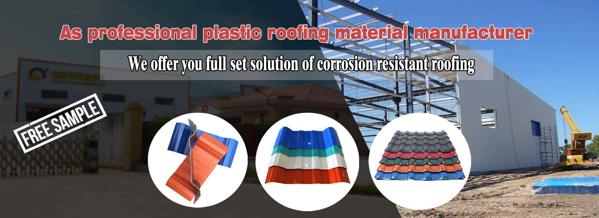 PVC roofing manufacturer