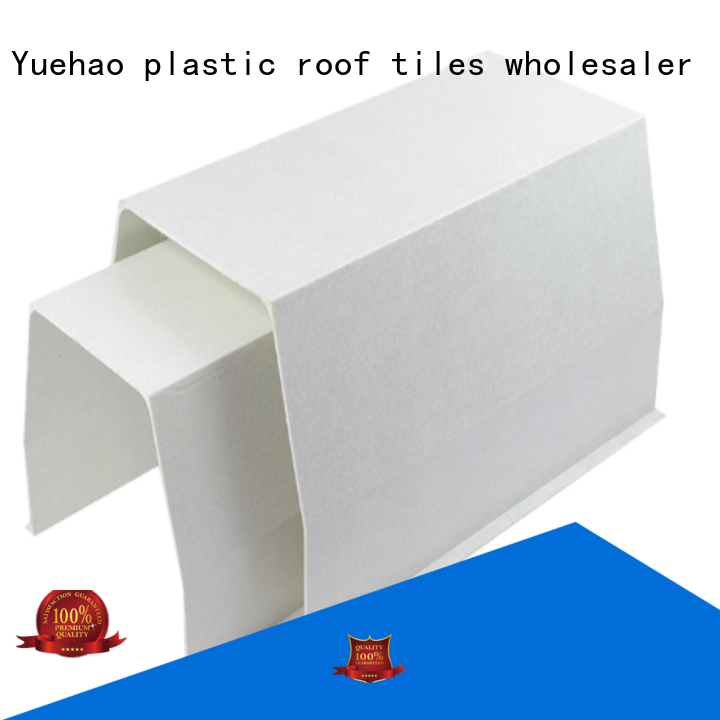 durable pvc rain gutters and downspouts system directly sale for connection