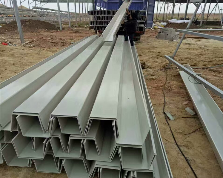 Yuehao plastic roof tiles wholesaler rain pvc pipe for gutters manufacturer for dormer clapping-2
